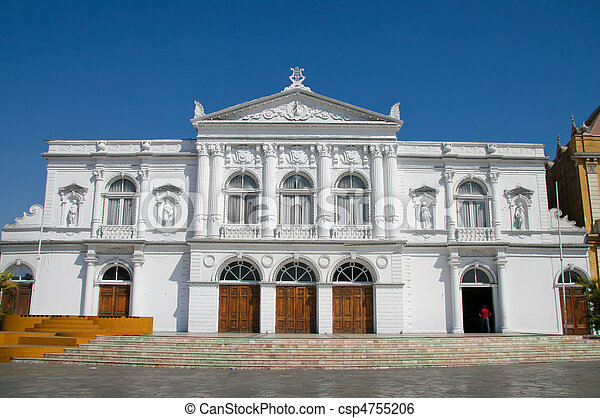 Opera House in Iquique, Chile - csp4755206