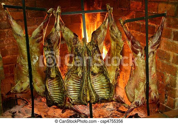 Roasting meat - csp4755356