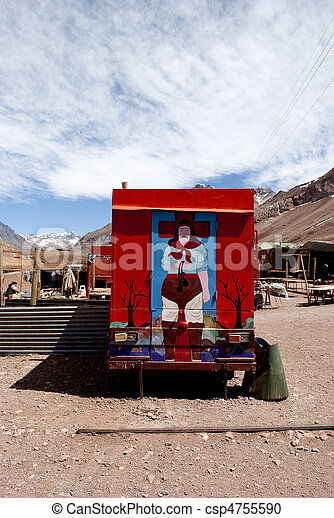 the caves, Mendoza, Argentina - csp4755590