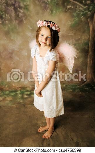 Angel Girl - csp4756399