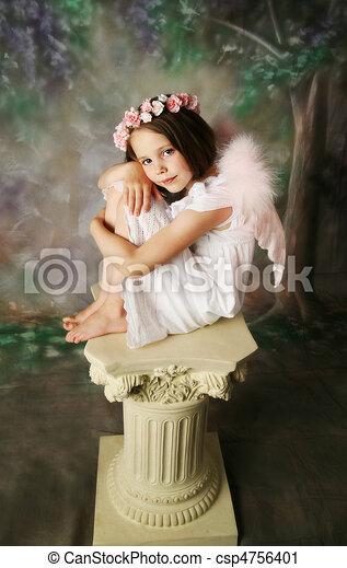 Angel Girl - csp4756401