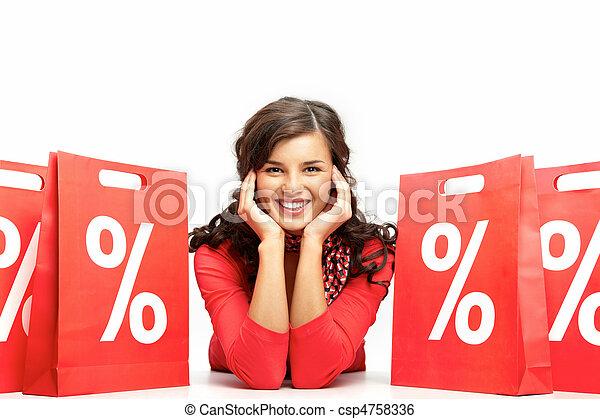 Sales period  - csp4758336