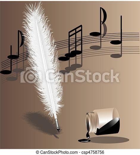 biege symphony - csp4758756