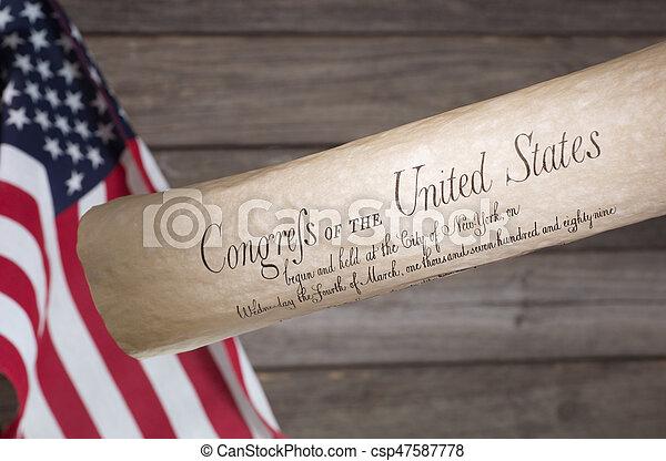 Bill of Rights - csp47587778