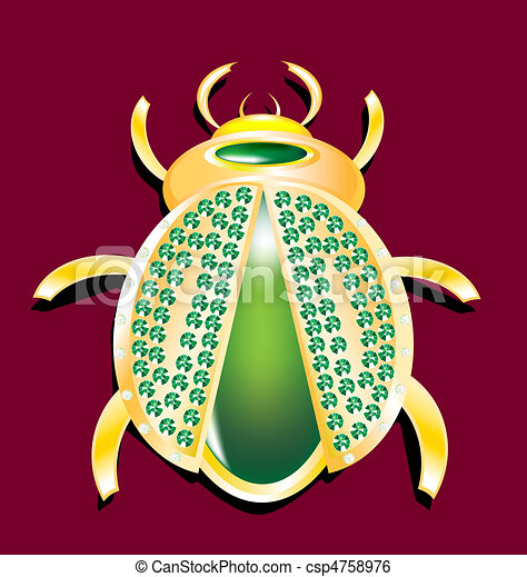 jewel beetle - csp4758976