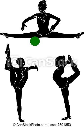 gymnastics1,  EPS - csp47591853