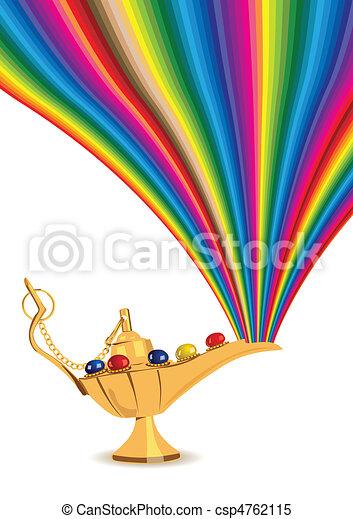 Aladdin\'s Magic Lamp - csp4762115