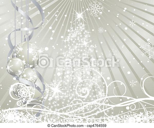 christmas background - csp4764559