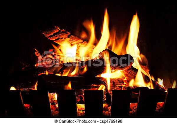 Open Fire - csp4769190
