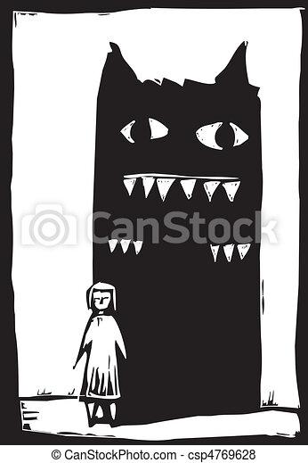 Shadow Monster - csp4769628