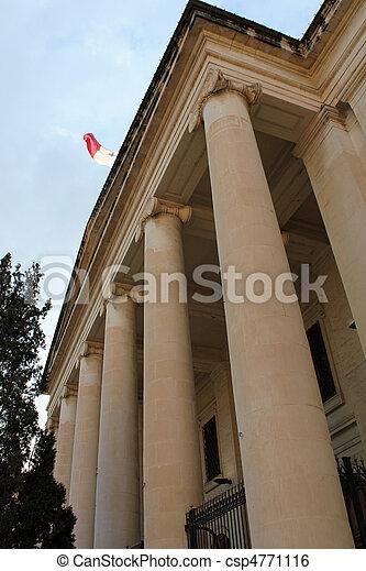 Malta Law Courts - csp4771116
