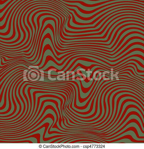 Groovy Undulating Stripes - csp4773324