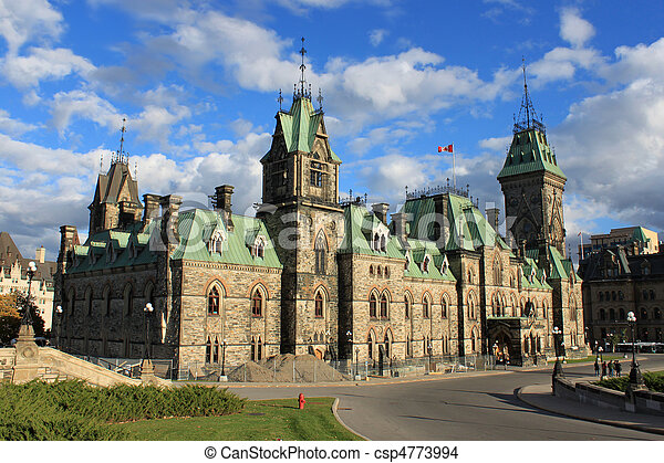 Architecture in Ottawa, Canada - csp4773994