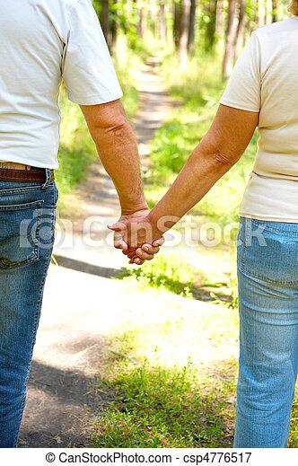 Elderly couple - csp4776517
