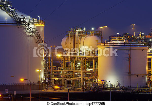 Chemical production facility at nig - csp4777265