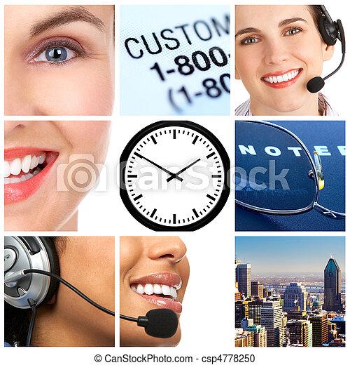 customer service - csp4778250
