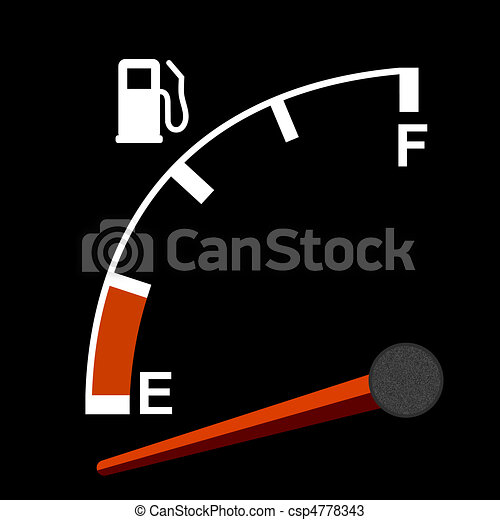 Gas gauge   - csp4778343