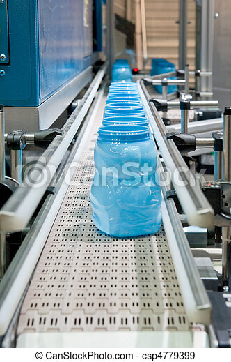 Mass production of plast - csp4779399