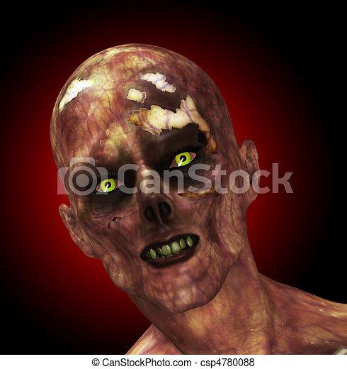 Moldy Zombie - csp4780088