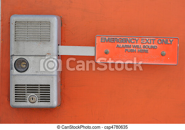 Emergency Exit - csp4780635