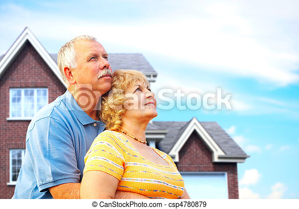 Elderly couple - csp4780879