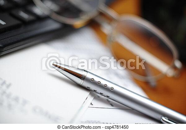 businessman desk