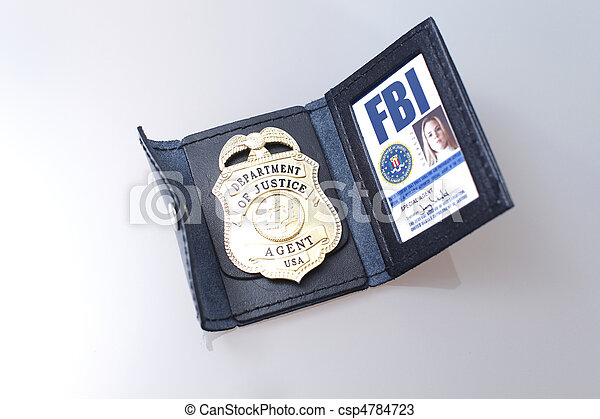 fbi, emblema - csp4784723