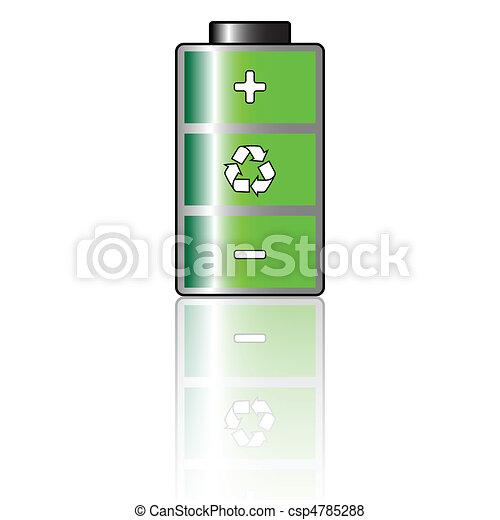 Environmental Battery - csp4785288