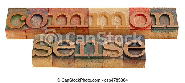 common sense - csp4785364