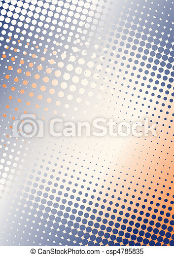 red-blue poster background - csp4785835