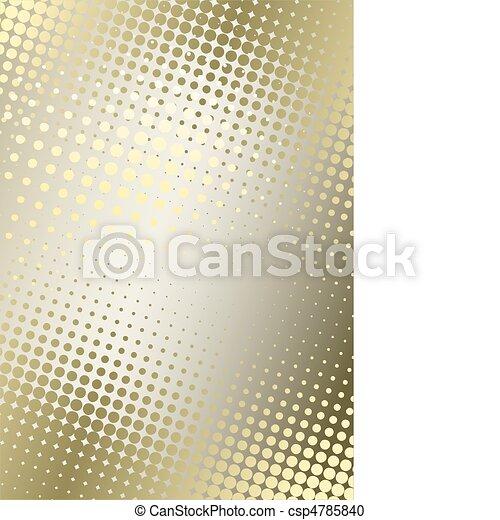 golden poster background - csp4785840