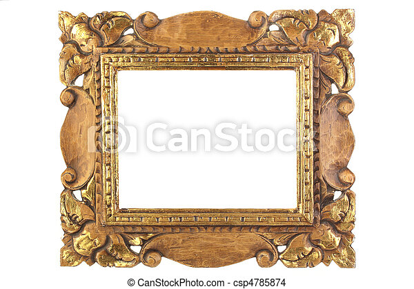 anticaglia, immagine, frame. - csp4785874