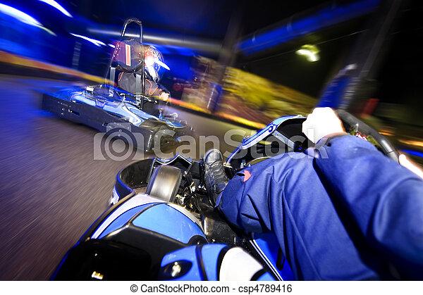 Go-cart in pursuit - csp4789416