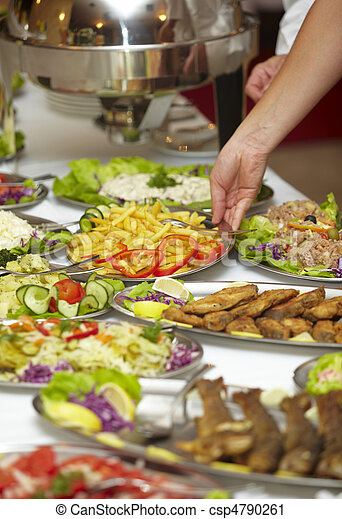 catering food restaurant cuisine - csp4790261
