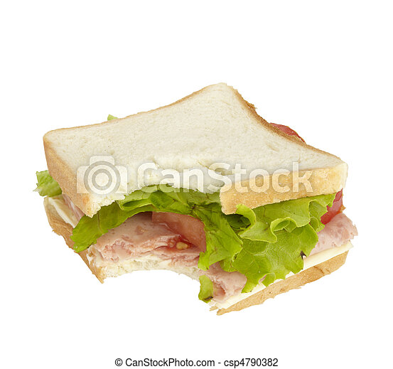 sandwich food eating snack meal - csp4790382