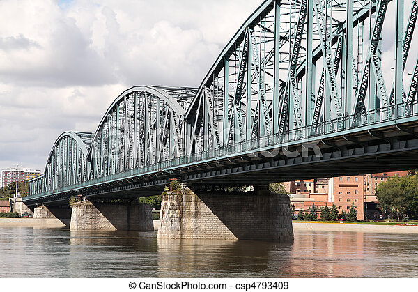 Truss bridge - csp4793409