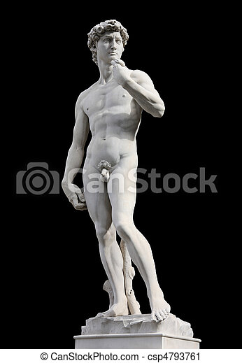 David by Michelangelo - csp4793761