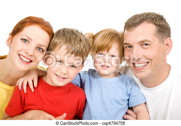 Cheerful family - csp4794758