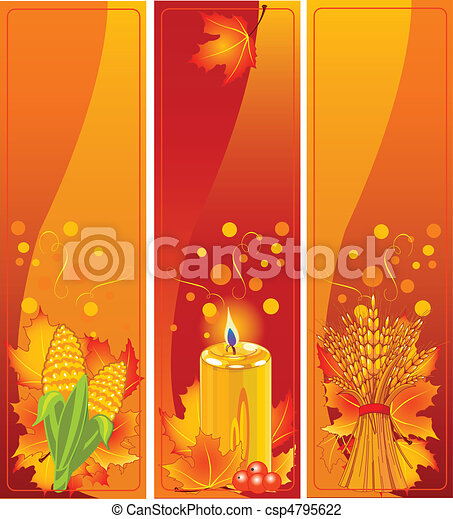 Vertical Harvest Banners - csp4795622