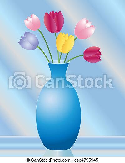 tulip vase - csp4795945