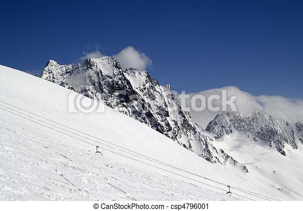 Ski slope - csp4796001