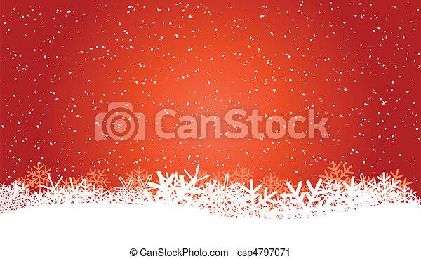 winter background - csp4797071