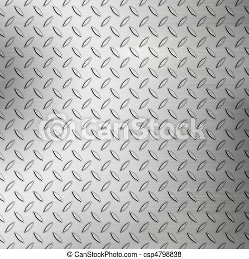 Rough Diamond Plate Texture - csp4798838