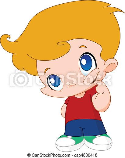 Little boy - csp4800418