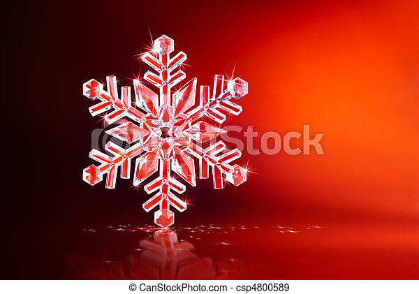 sparkling snowflake - csp4800589