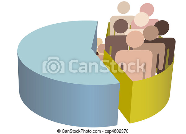 Diverse people group - csp4802370