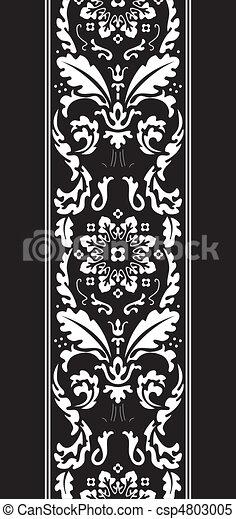 damask fancy pattern - csp4803005