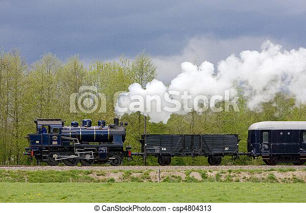 steam train, Netherlands - csp4804313
