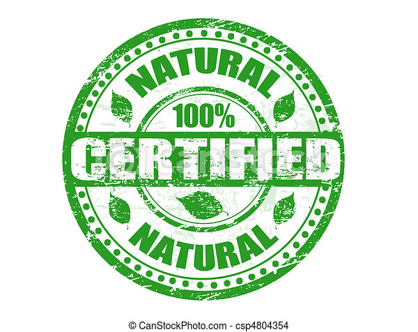 Natural stamp - csp4804354