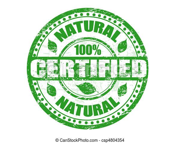 Natural stamp - csp4804354